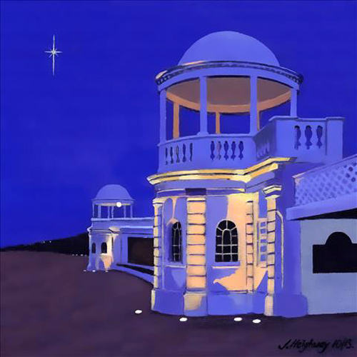 Colonades at Night- Bexhill