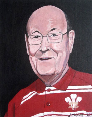 cerys's dad portrait