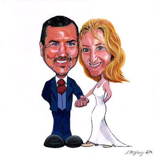 keith helen wedding painting
